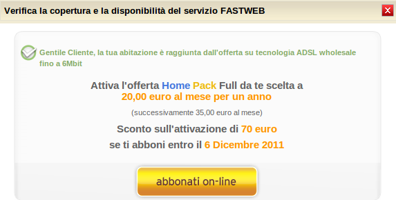 fastweb wholesale