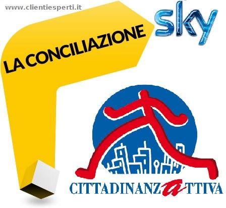 risolvere con la conciliazione Sky Italia