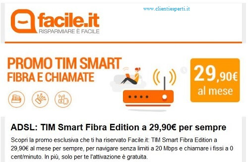 offerta tim facile.it