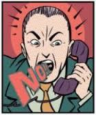 no al telemarketing