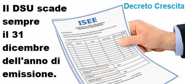scadenza DSU ISEE