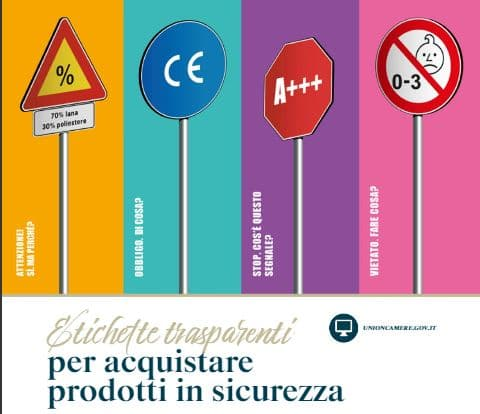 Etichette trasparenti per i consumatori